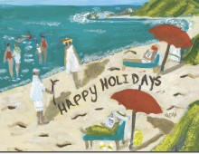 Happy Holiday from the Sand